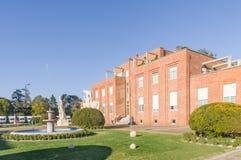 Het gebouw van de belangrijkste bureaus van Snia Torviscosa royalty-vrije stock fotografie