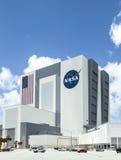 Het Gebouw van de Voertuigassemblage bij NASA, Kennedy Space Royalty-vrije Stock Fotografie