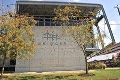 Het Gebouw van het Bruggencentrum, Memphis TN Royalty-vrije Stock Foto