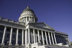 Het gebouw van het Capitool van de Staat van Utah Stock Foto's