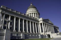 Het gebouw van het Capitool van de Staat van Utah Stock Afbeeldingen