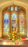 Het gebrandschilderd glas Royalty-vrije Stock Foto's