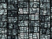 Het Gebrandschilderd glas van het net Royalty-vrije Stock Afbeelding