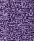 Het gebreide Patroon van de Wol stock afbeeldingen