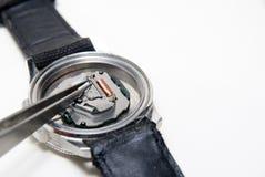 Het gebroken horloge Stock Foto