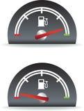 Het gebruik van de brandstof royalty-vrije illustratie