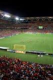 Het Gebrul van Brisbane bij Stadion Suncorp Royalty-vrije Stock Fotografie