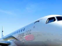 Het gecharterde Vliegtuig van de Lucht Royalty-vrije Stock Foto's