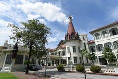 Het geconstrueerde Phyathaipaleis of het Koninklijke Thaise Paleis van Phya begon in 1909 in Rama V met opdracht, Bangkok 1 oct 2 royalty-vrije stock afbeelding