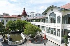 Het geconstrueerde Phyathaipaleis of het Koninklijke Thaise Paleis van Phya begon in 1909 in Rama V met opdracht, Bangkok 1 oct 2 stock afbeeldingen