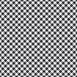 Het gecontroleerde naadloze patroon van de plaidstof Stock Foto