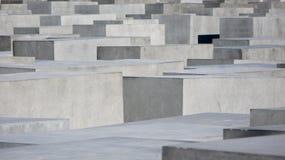 Het gedenkteken aan de Moorde Joden van Europa Stock Foto's