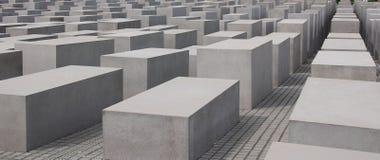 Het gedenkteken aan de Moorde Joden van Europa Royalty-vrije Stock Fotografie