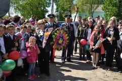 Het gedenkteken aan militairen die in Afghanistan, in het Gomel-gebied van de Republiek Wit-Rusland stierven Stock Afbeeldingen