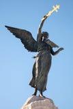 Het gedenkteken Russalka tegen blauwe hemel Stock Fotografie