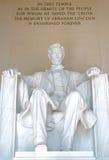 Het Gedenkteken van Abraham Lincoln Royalty-vrije Stock Foto