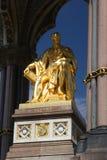 Het gedenkteken van Albert van de Prins in Hyde park, Londen. Stock Foto's