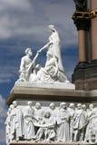 Het gedenkteken van Albert van de Prins in Hyde park, Londen. Royalty-vrije Stock Afbeeldingen