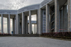 Het Gedenkteken van Bastogne WO.II stock fotografie
