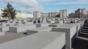 Het gedenkteken van Berlijn Stock Afbeeldingen
