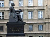 Het gedenkteken van Copernicus in Warshau Stock Foto's