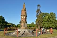 Het gedenkteken van de Arawaoorlog in Rotorua - Nieuw Zeeland Stock Afbeelding