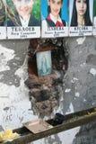 Het gedenkteken van de Beslanschool, waar de terroristische aanslag in 2004 was Royalty-vrije Stock Fotografie