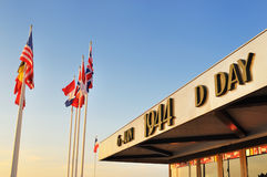 Het Gedenkteken van de D-dag, Normandië Stock Fotografie