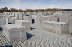 Het gedenkteken van de holocaust in Berlijn royalty-vrije stock afbeelding