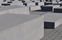 Het gedenkteken van de holocaust, Berlijn Stock Foto's
