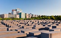 Het gedenkteken van de holocaust, Berlijn stock foto