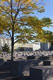 Het gedenkteken van de holocaust in Berlijn Royalty-vrije Stock Foto