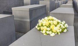 Het gedenkteken van de holocaust in Berlijn Stock Fotografie