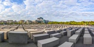 Het gedenkteken van de holocaust in Berlijn Royalty-vrije Stock Foto's