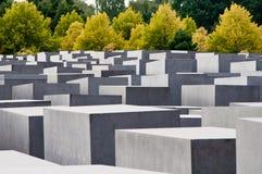 Het Gedenkteken van de holocaust, Berlijn, Duitsland. Stock Afbeeldingen