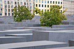 Het Gedenkteken van de holocaust, Berlijn, Duitsland. Stock Foto's