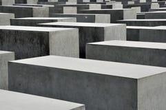Het Gedenkteken van de Holocaust van Berlijn Royalty-vrije Stock Foto's