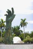 Het Gedenkteken van de Holocaust van het Strand van Miami Royalty-vrije Stock Fotografie