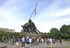Het Gedenkteken van de Marine van Verenigde Staten Stock Foto
