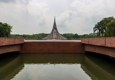 Het Gedenkteken van de Naionalmartelaar, dhaka, Bangladesh royalty-vrije stock fotografie