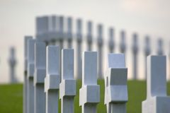 Het gedenkteken van de oorlog Stock Afbeeldingen