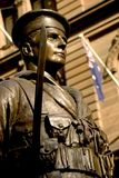 Het gedenkteken van de oorlog, Sydney stock afbeelding