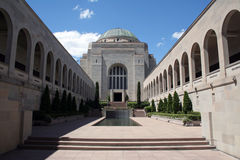 Het gedenkteken van de Oorlog van Canberra Stock Foto