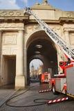 Het Gedenkteken van de Oorlog van de Poort van Menin WW1 Royalty-vrije Stock Foto