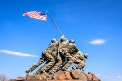 Het gedenkteken van de Oorlog van Jima van Iwo Royalty-vrije Stock Afbeeldingen