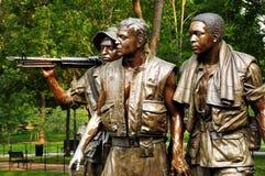 Het Gedenkteken van de Oorlog van Vietnam Stock Fotografie