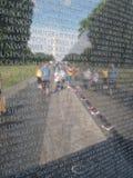 Het Gedenkteken van de Veteraan van Vietnam Royalty-vrije Stock Foto's