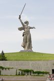 Het Gedenkteken van de Wereldoorlog II in Volgograd Royalty-vrije Stock Afbeeldingen