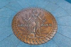 Het gedenkteken van de Wereldoorlog II in Washington DC Stock Afbeelding