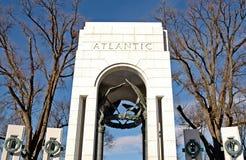 Het Gedenkteken van de Wereldoorlog II - Washington, gelijkstroom Royalty-vrije Stock Afbeelding